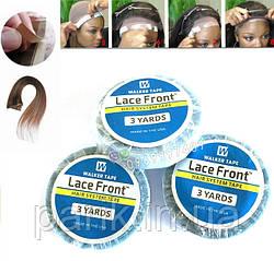 Лента двухстороння липкая для приклеивания накладки к голове (систему волос, парик)