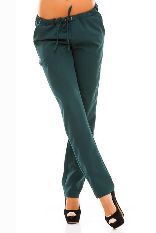 Прямые женские брюки Радмила, изумрудные