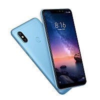 "Смартфон Xiaomi redmi note 6 pro 4/64GB blue EU (2SIM) 6,26""  20+5/12+5МП 3G 4G оригинал Гарантия!"