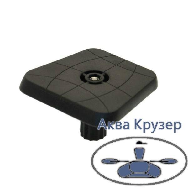 Майданчик для ехолота та іншого обладнання 100*100 мм Sl223 FASTen Borika, колір чорний