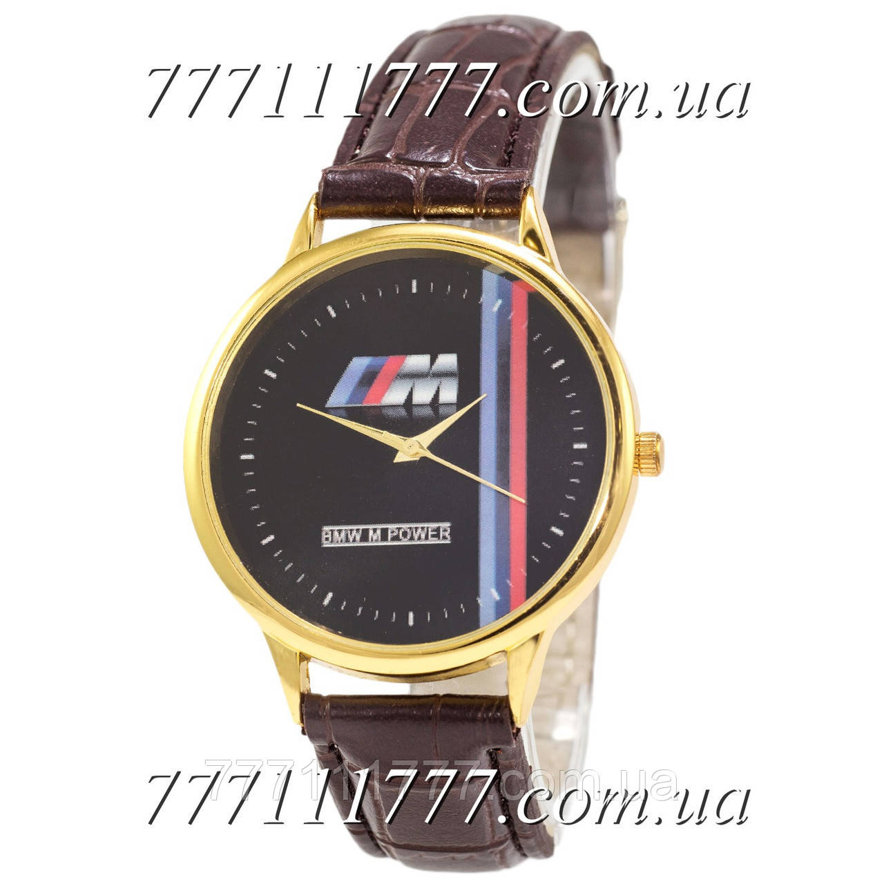 ce658230 Часы мужские наручные Украина BMW M Power m Gold-Brown: продажа ...