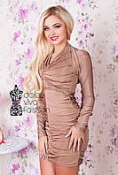 Платье коктейльное молодежное
