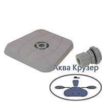 Площадка для эхолота и другого оборудования 100*100 мм Sl223G Борика Фастен, цвет серый, фото 1