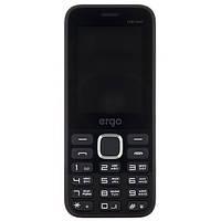"""Мобильный телефон ERGO F243 Swift DS Black черный (2SIM) 2.4"""" 32/32МБ+SD 0,8Мп оригинал Гарантия!"""