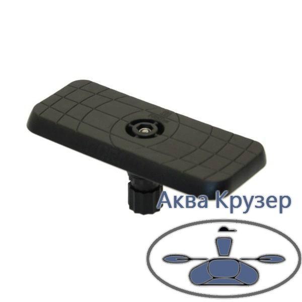 Площадка для эхолота и другого оборудования 164*68 мм  FASTen (Борика), цвет черный (Ss223)