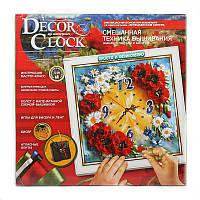 Набор для творчества Decor Clock (маки)