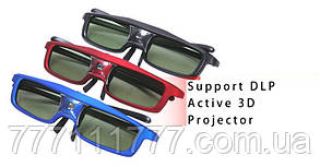 3D очки для проекторов DLP-Link GoDrive GD-ASG01 + шнур! оригинал Гарантия!