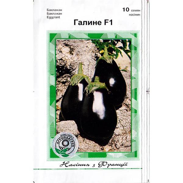 """Насіння баклажана раннього """"Галині"""" F1 (10 насінин) від Clause, Франція"""