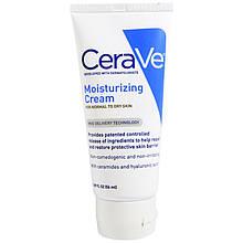 """Увлажняющий крем CeraVe """"Moisturizing Cream"""" для нормальной и сухой кожи (56 мл)"""