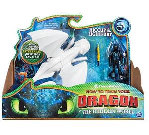 Как приручить дракона 3: набор из дракона Дневной Фурии и викинга Иккинга SM66621/7380  Spin Master