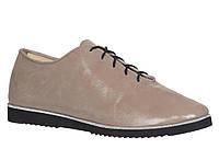 Туфли женские на плоской подошве из натуральной кожи от производителя модель  АР1018 15ffb1eefe72e