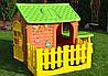 Детский домик с террасой и столиком Mochtoys, фото 2