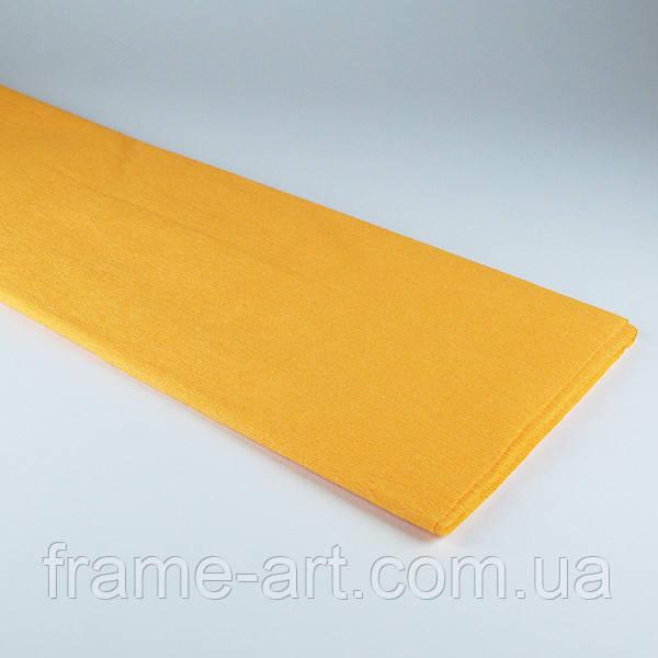 Креп-бумага 50*200см 55% 705387 темно-желтый