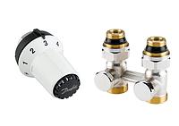 Комплект: термоголовка RAS-CK + прямой запорный Н-образный клапан RLV-KS