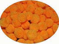 Фетровые помпоны 1,5 см оранжевые 199768