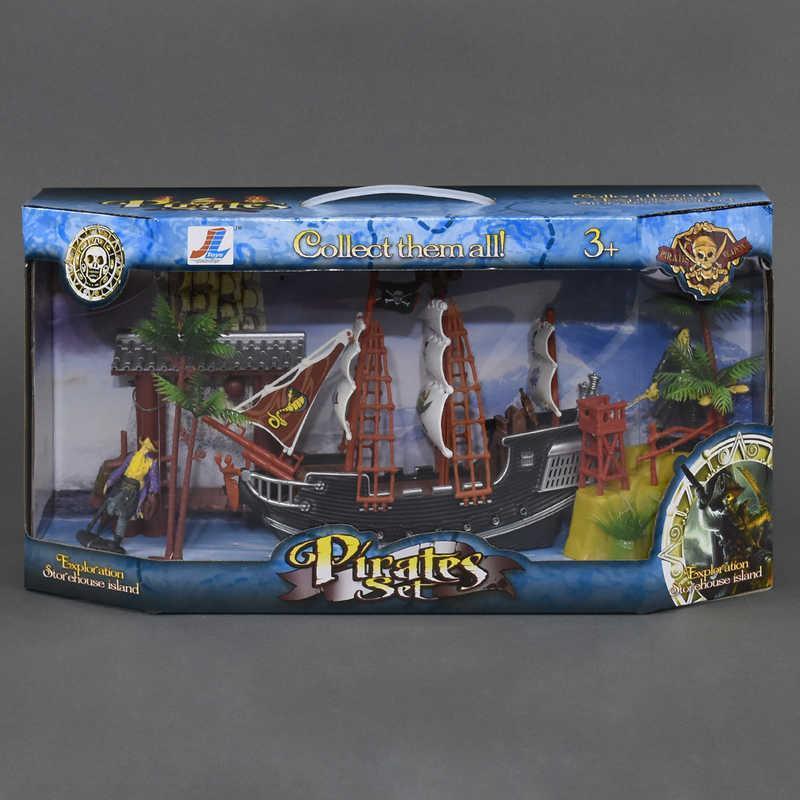 Набор Пиратский корабль с островом