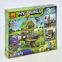 Конструктор Minecraft My World 33220, В поисках сокровищ, реплика LEGO