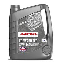 Масло трансмиcсионное 85W-140 минеральное Forward Tec (4л) (пр-во Azmol)