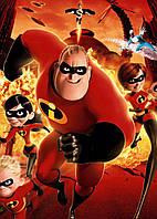 Картина GeekLand Incredibles Суперсемейка постер к мультфильму 40х60см IC.09.003