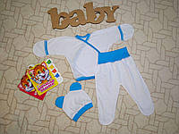 Комплект для новорожденного с ушками Размер 36 (18) Комплект для  новонародженого з вушками Розмір 0bf30f39c4bde