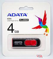 USB флешка ADATA Classic Series C008 4GB Black