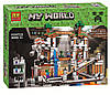 Конструктор Minecraft Bela 10179 Шахта, аналог Lego Майнкрафт, 926 дет