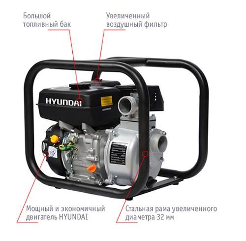 Мотопомпа Hyundai HY 50 (для чистой воды)