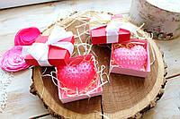 Подарочный набор мыла Клубничная любовь в коробке, фото 1