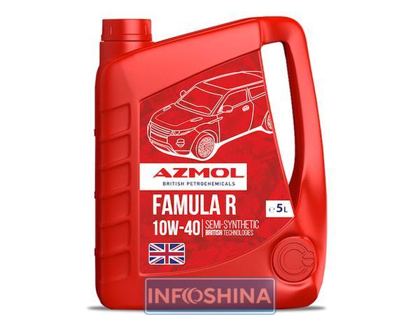 Масло моторное 10W-40 полусинтетическое Diesel Plus (5л) (пр-во Azmol)