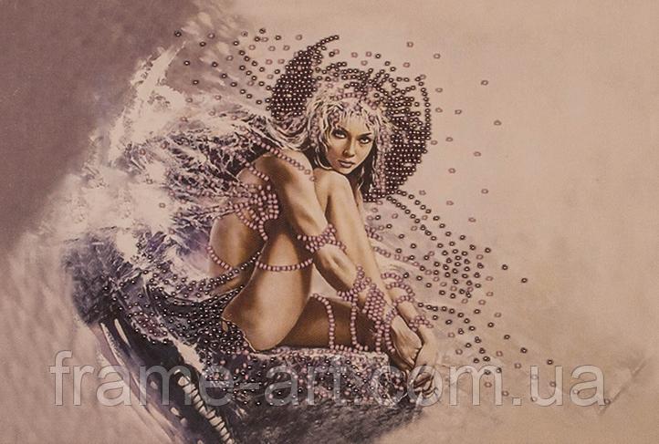 Набор для вышивания бисером Девушка ангел FLF-005