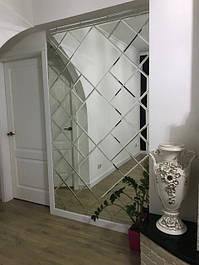 Зеркальная плитка фацет 10 мм (эконом)