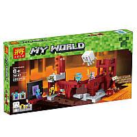 Конструктор 79147 Minecraft Подземная крепость, аналог Lego Майнкрафт, фото 1