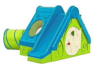 Детский игровой домик с горкой Keter Funtivity