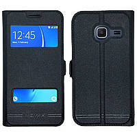 Чехол-книжка Moмax for Samsung J105 black