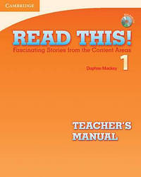 Read This! 1 Teacher's Manual with Audio CD