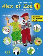 Alex et Zoe Nouvelle 1 Livre de L`eleve + Livret de civilisation + CD-ROM