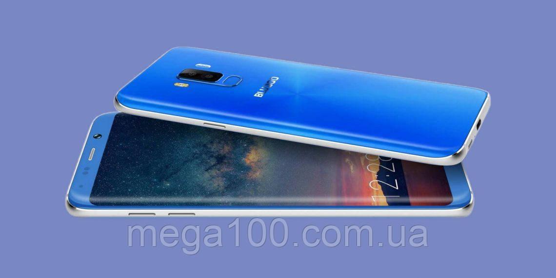 Смартфон Bluboo (BluBoo) S8 plus (S8 +) синий (экран 6 дюймов/ памяти 4/64 / емкость батареи 3600 мАч)