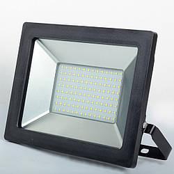Прожектор SLP-100W SMD LED 6000K BK
