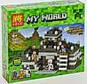 Конструктор Lele Minecraft 33007, Башня - неприступная крепость