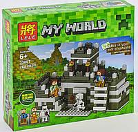 Конструктор Lele Minecraft 33007, Башня - неприступная крепость, фото 1