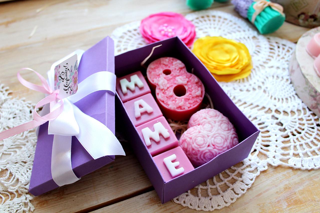 Подарочный набор мыла Маме в коробке
