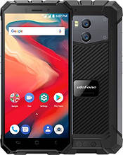 Смартфон Ulefone Armor X2 чорний колір NFC (екран 5.5 дюймів, пам'яті 2/16, акб 5500 маг)