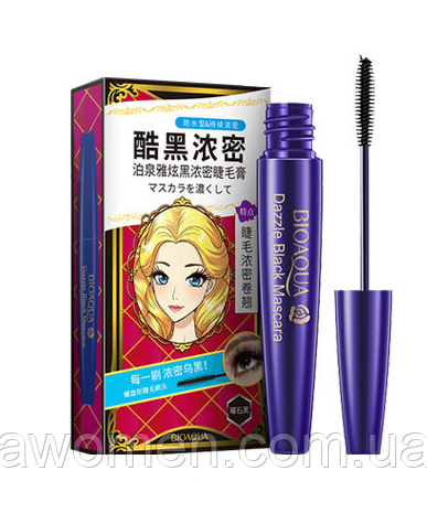 Тушь для ресниц Bioaqua DAZZLE Black Mascara 8 g