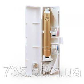 Электро звуковая зубная щётка Jetpik JP300 (золотая), фото 2