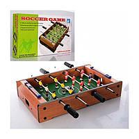 Детский деревянный настольный футбол Limo Toy 235