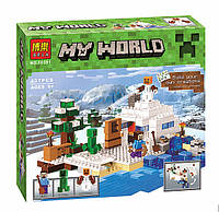 Конструктор Bela Minecraft 10391 Снежное укрытие, аналог Lego Майнкраф, фото 1