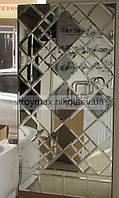 Зеркальная плитка с фацетом в ассортименте