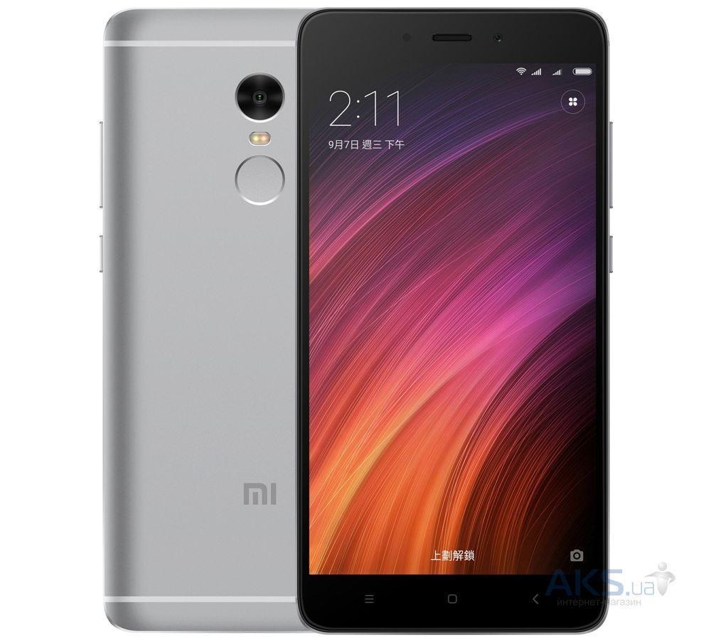 Xiaomi Redmi Note 4x 4/64GB Gray