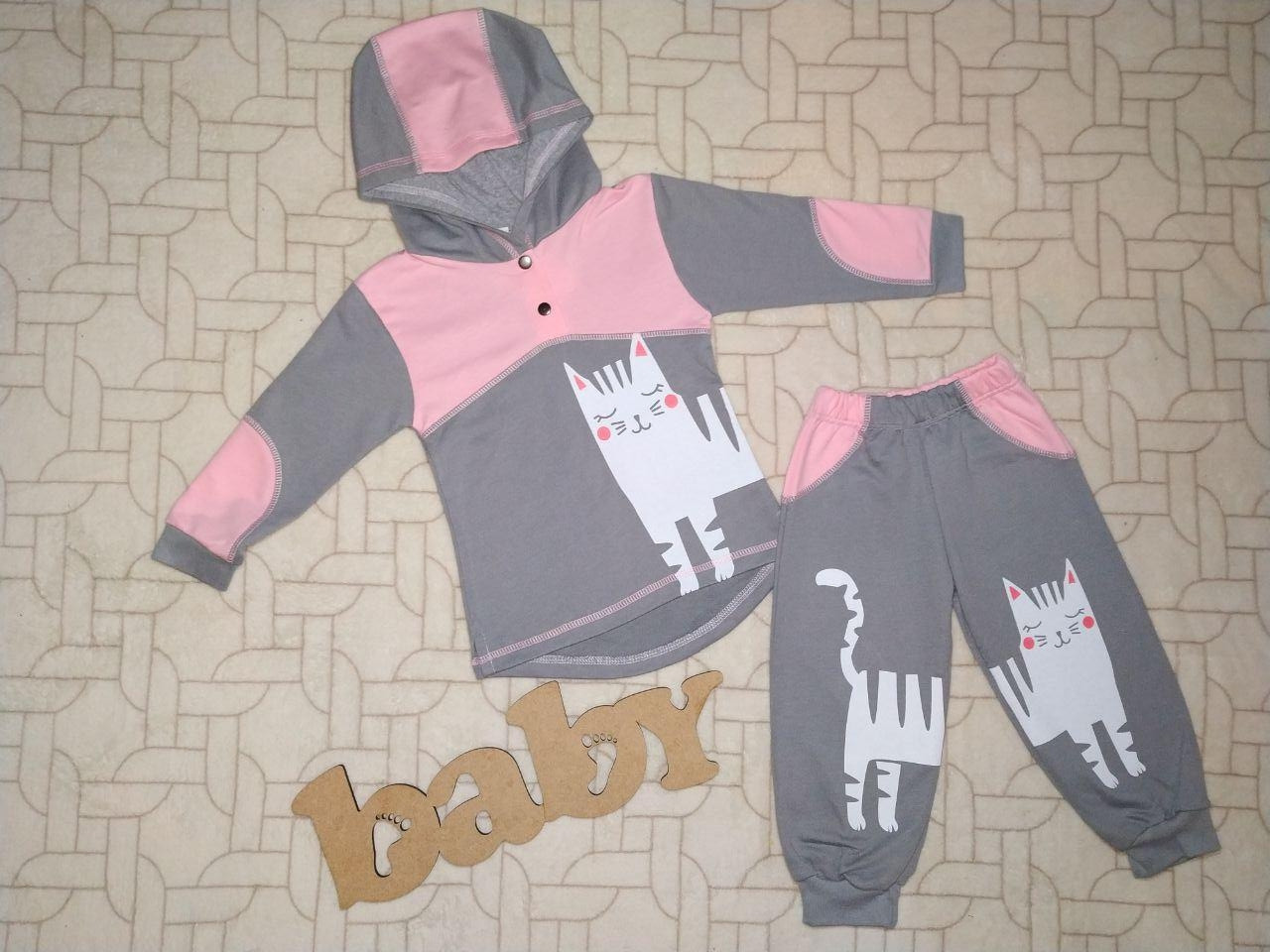 056cbddf7914c Спортивный костюм для девочки Двунитка Размер 28(56) Спортивний костюм для  дівчинки Двунитка Розмір