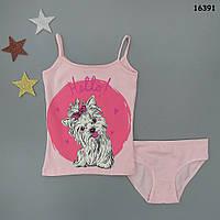 """Набор нижнего белья """"Собачка"""" для девочки. 3-4 года"""